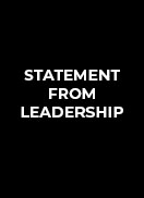 Statement From Leadership
